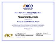 Alessandro De Angelis ACC ICF